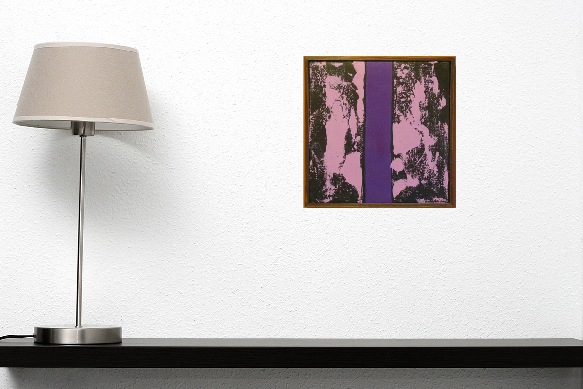 Jean McEwen-No. 10 Violet traversant le feu des signes