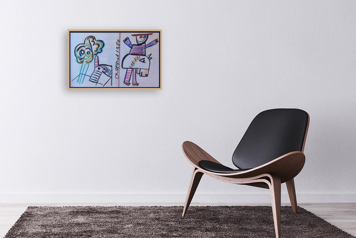 Karel Appel-Untitled
